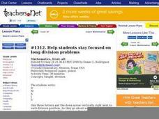 Stay Focused on Long Division Lesson Plan