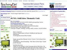 Folk Tales Thematic Unit Lesson Plan