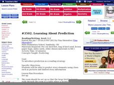 Learning About Prediction Lesson Plan