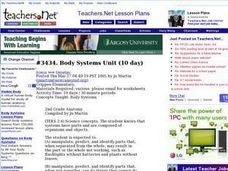 Body Systems Unit Lesson Plan
