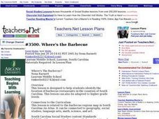 Where's the Barbecue? Lesson Plan