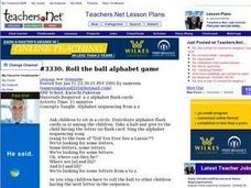 Roll the Ball Alphabet Game Lesson Plan