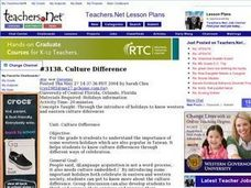 Culture Differences Lesson Plan