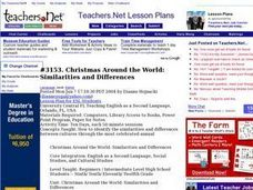 Christmas Around the World: Similarities and Differences Lesson Plan