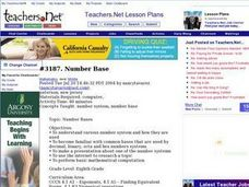 Number Base Lesson Plan