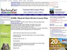 Musical Chair Review Lesson Plan