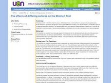 the Effects of Differing Cultures on the Mormon Trail Lesson Plan
