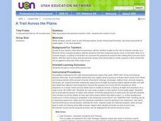 A Trail Across the Plains Lesson Plan