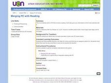 Merging PE with Reading Lesson Plan