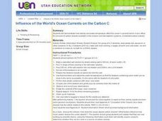 Influence of the World's Ocean Currents on the Carbon C Lesson Plan
