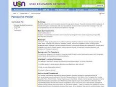 Persuasive Poster Lesson Plan