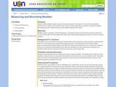 Measuring and Recording Weather Lesson Plan