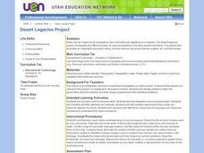 Desert Legacies Project Lesson Plan