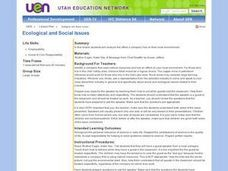 Ecological and Social Issues Lesson Plan