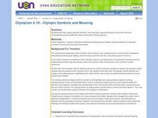 Olympic Symbols and Meaning Lesson Plan
