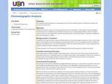 Chromatograhic Analysis Lesson Plan