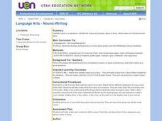 Nouns: Writing Lesson Plan