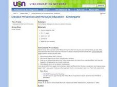 Disease Prevention and HIV/AIDS Education - Kindergarten Lesson Plan