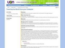 Traveling the World From Your Computer Lesson Plan