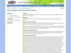 Solar Energy and the Greenhouse Effect Lesson Plan