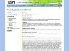 People Buy Products and Services Lesson Plan