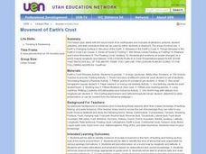 Movement of Earth's Crust Lesson Plan