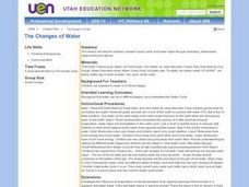 The Changes of Water Lesson Plan