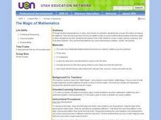 The Magic of Mathematics Lesson Plan