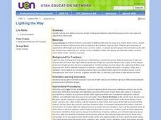 Lighting the Way Lesson Plan