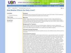 How Weather Effects Our Daily Lives? Lesson Plan