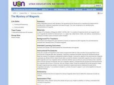 The Mystery of Magnets Lesson Plan