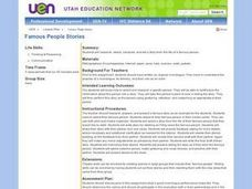 Famous People Stories Lesson Plan