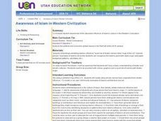 Awareness of Islam in Western Civilization Lesson Plan