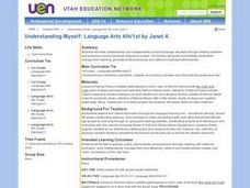 Understanding Myself: Language Arts Lesson Plan