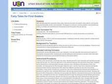 Fairy Tales for First Graders Lesson Plan