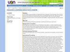 Engaged Learning Weather Lesson Lesson Plan