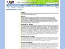 Great Salt Lake Diatoms Lesson Plan