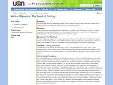 Winter Olympics: The Sport of Curling Lesson Plan