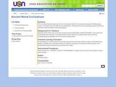 Ancient World Civilizations Lesson Plan