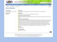 Life In Australia Lesson Plan