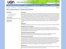 ESL Lesson Plan 3 - Classroom Culture Lesson Plan