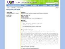 Erosion by the Wind Lesson Plan
