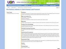 Prehistoric Indians in Utah Lesson Plan