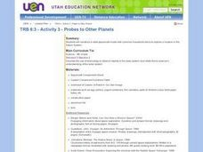 Probes to Other Planets Lesson Plan