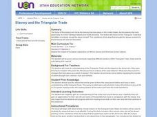Slavery and the Triangular Trade Lesson Plan