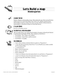 Let's Build a Map Lesson Plan