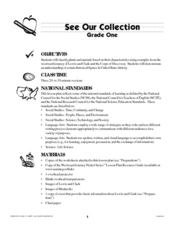 See Our Collection Lesson Plan