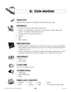 Coin Motion Lesson Plan