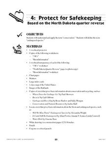 Protect for Safekeeping Lesson Plan