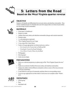 Letters from the Road Lesson Plan
